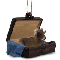 Big Horn Sheep Traveling Companion Ornament