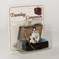 Ornament Traveling Companion Cats
