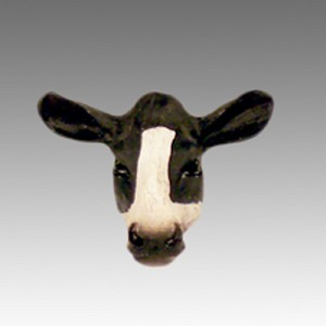 Holstein Cow Tiny One head