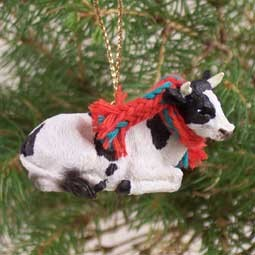 Holstein Bull Original Ornament