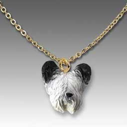 Skye Terrier Tiny One Pendant