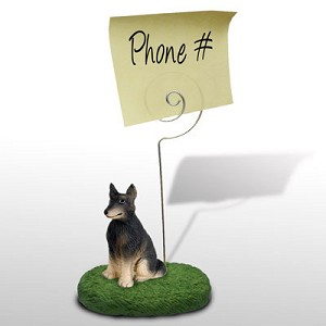 Belgian Tervuren Memo Holder