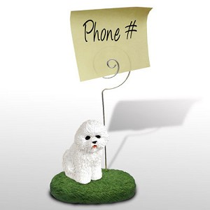 Bichon Frise Memo Holder
