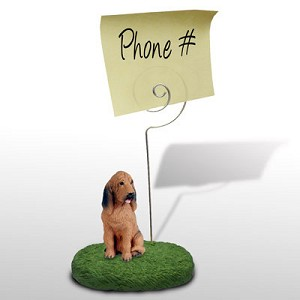 Bloodhound Memo Holder