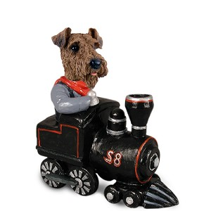 Airedale Train Doogie Collectable Figurine