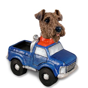 Airedale Pickup Doogie Collectable Figurine