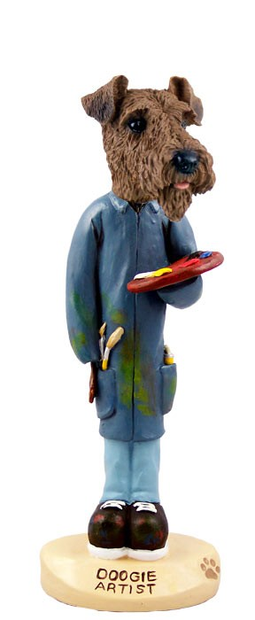 Airedale Artist Doogie Collectable Figurine