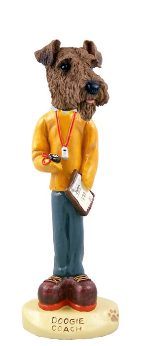 Airedale Coach Doogie Collectable Figurine