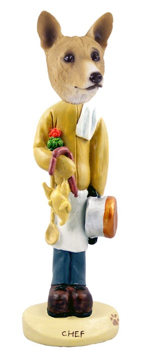Basenji Chef Doogie Collectable Figurine