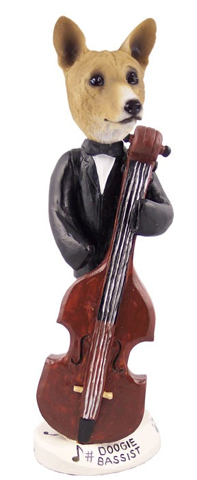 Basenji Bassist Doogie Collectable Figurine