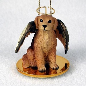 Golden Retriever Pet Angel Ornament