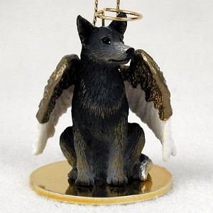 Australian Cattle BlueDog Pet Angel Ornament