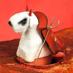 Sealyham Terrier Devilish Pet Figurine
