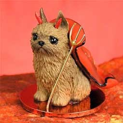 Brussels Griffon Red Devilish Pet Figurine