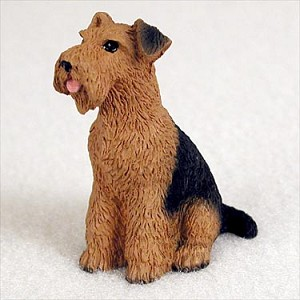 Airedale Tiny One Figurine