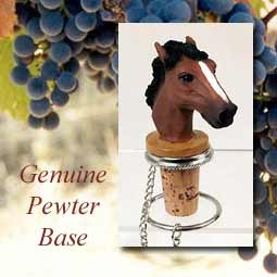 Horse Bottle Stopper