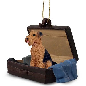 Airedale Traveling Companion Ornament