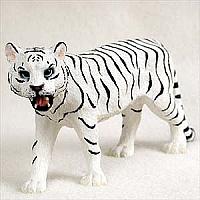 Tiger White Standard Figurine
