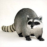 Raccoon Standard Figurine