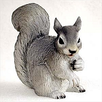 Squirrel Gray Standard Figurine