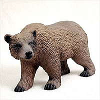 Bear Grizzly Standard Figurine