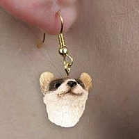 Ferret Earrings Hanging