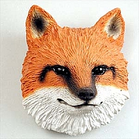Fox Red Magnet