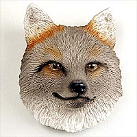 Fox Gray Magnet