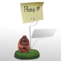 Orangutan Memo Holder