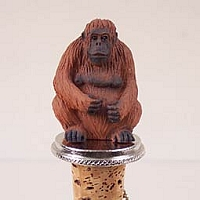 Orangutan Bottle Stopper