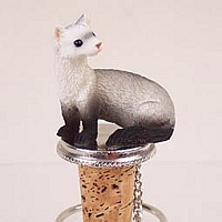 Ferret Bottle Stopper