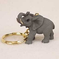 Elephant Key Chain
