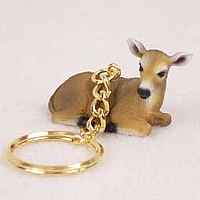 Deer Doe Key Chain