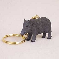 Razorback Hog Key Chain