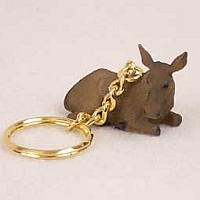 Moose Cow Key Chain