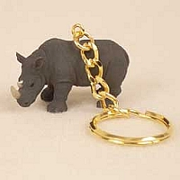 Rhinoceros Key Chain