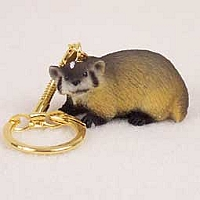 Badger Key Chain
