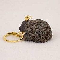 Porcupine Key Chain