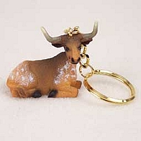 Long Horn Steer Key Chain