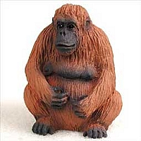 Orangutan Tiny One Figurine