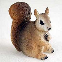 Squirrel Red Tiny One Figurine