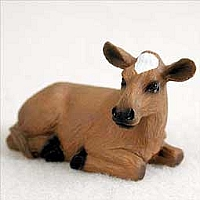 Guernsey Cow Tiny One Figurine