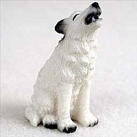 Wolf White Tiny One Figurine