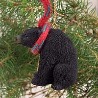 Bear Black Original Ornament