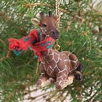 Giraffe Original Ornament