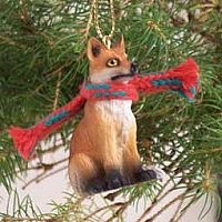 Fox Red Original Ornament