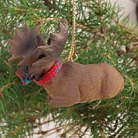 Moose Bull Original Ornament
