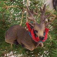 Elk Bull Original Ornament