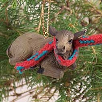 Elk Cow Original Ornament