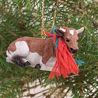 Guernsey Bull Original Ornament